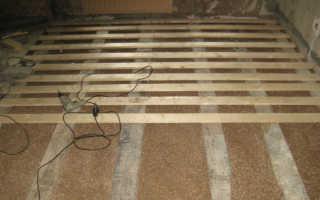 Чем покрыть деревянный пол в гараже