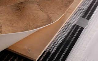 Как правильно стелить теплый пол под линолеум