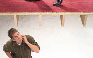 Скрипит деревянный пол что делать
