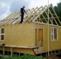 Можно ли строить баню из сип панелей