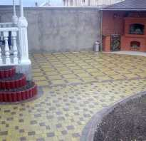 Плитка для веранды на улице