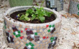 Сделать мозаичную плитку своими руками