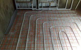 Как сделать теплый пол из полипропиленовых труб