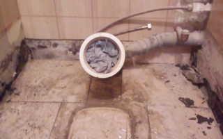 Выкладывание плитки в туалете
