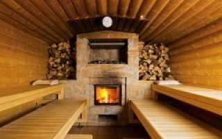 Как правильно топить баню дровами