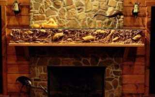Облицовка каминов плиткой фото