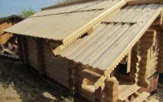 Тесовая крыша какая