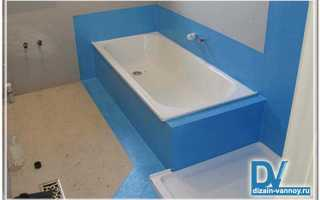 Гидроизоляция для ванной