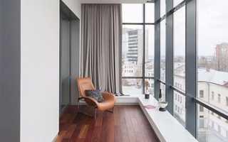 Как утеплить балкон пол