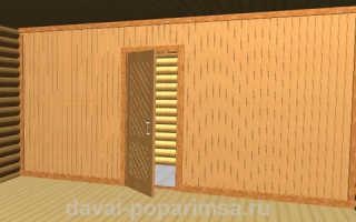 Строительство каркасной перегородки в бане срубе порядок работ