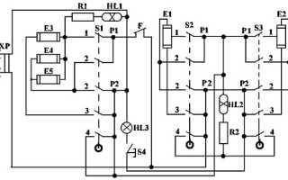 Электра 1001 схема подключения конфорок