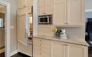 Как закрыть холодильник фасадом