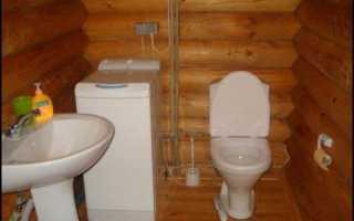 Как поставить унитаз на деревянный пол