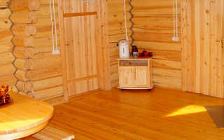 Чем покрыть пол в предбаннике бани