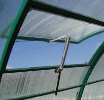 Вентилятор в теплице