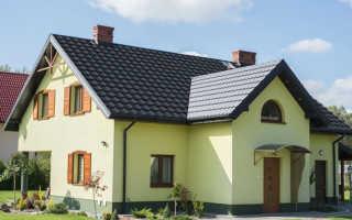 Серая крыша подобрать фасад