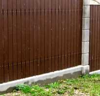 Надежный забор на участке с уклоном