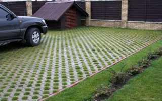 Толщина тротуарной плитки под легковой автомобиль