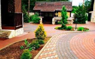 Как положить тротуарную плитку во дворе