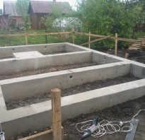 Фундамент под баню своими руками инструкция