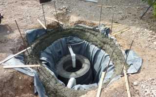 Сливная яма для бани из покрышек