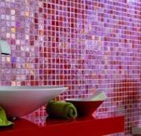 Как укладывать мозаичную плитку на сетке