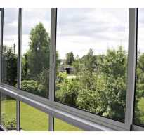 Алюминиевая балконная рама