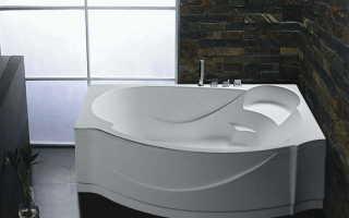 Акриловая ванна как установить