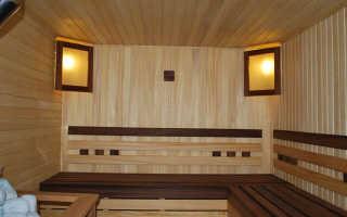 Стандартные размеры парилки в бане