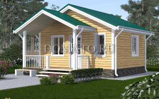 Планировка дома 5 на 6 одноэтажный
