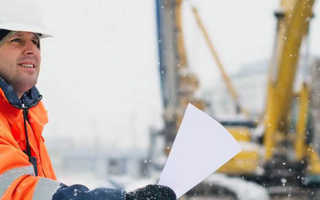 Можно ли строить дом в зимнее время
