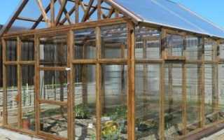 Строим деревянные теплицы просто и доступно