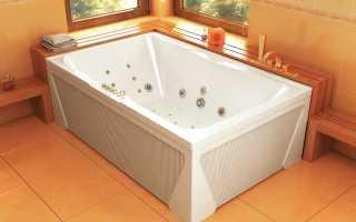 Чем почистить акриловую ванну