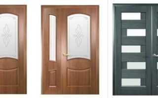 Двустворчатые двери межкомнатные