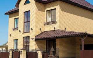 Дома из желтого кирпича