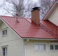 Лестница на крыше