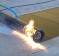 Как пользоваться газовой горелкой для кровли