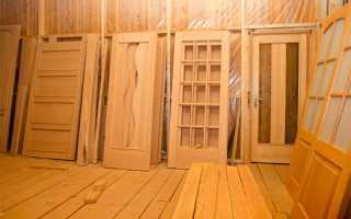 Технология изготовления деревянных дверей