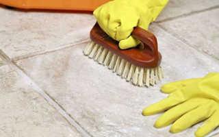 Средство для мытья плитки после ремонта