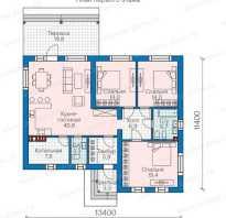 Одноэтажное строительство проекты домов 9на12 схемы