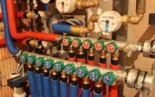 Коллектор для водоснабжения