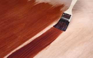Полиуретановая краска для пола по дереву