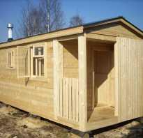 Мобильная баня своими руками строительство