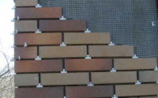 Укладка фасадной плитки своими руками