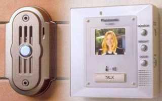Видеозвонок на дверь