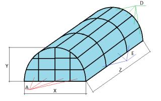 Как рассчитать длину дуги для теплицы