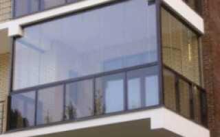 Как самому застеклить балкон