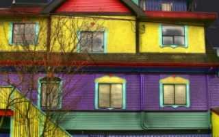 Тонкости покраски фасада дома