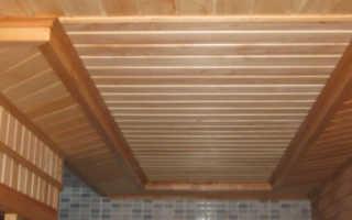 Потолок в бане советы профессионалов