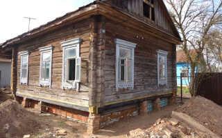 Как поднять дом своими руками пошаговая инструкция